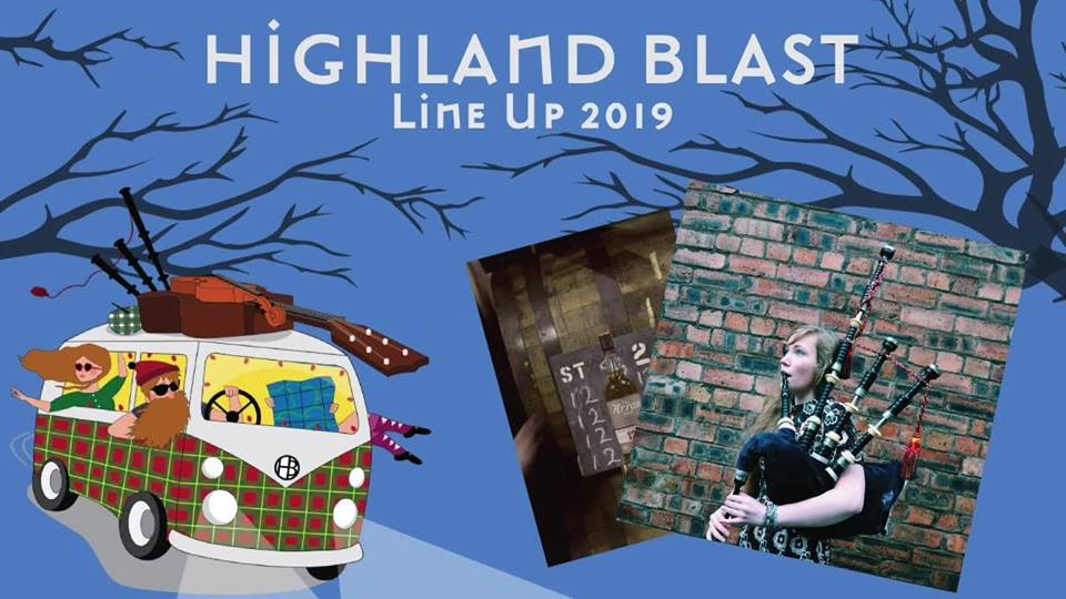 Highland Blast in Witten am 12. November 2019